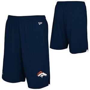 New Era NFL Football Men's Denver Broncos Ground Running Performance Shorts