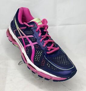 Asics GEL Kayano 22 - Blue/Pink - Women's Size 10.5 T597N Running Shoes