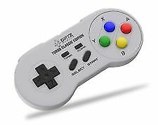 SNES Classic Mini Wireless Controller [Turbo Edition] Super Nintendo by ORTZ