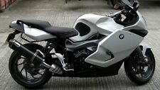BMW K1300S 2009- Carbon oval carbon outlet Road Legal Motorbike Exhaust Can