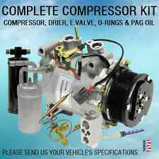 NEW AC KIT 10835 COMPRESOR ACCUMULATOR DRIER VALVE ORIFICE TUBE ORINGS PAG OIL