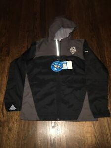 Columbia Seattle Sounders FC Youth Glennacker Lake Full-zip Jacket Size Large