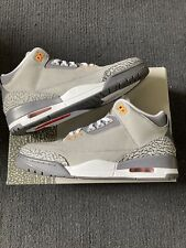 New Jordan 3 Cool Grey Size 10.5