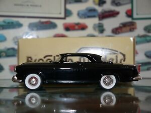 Brooklin Models 1/43 Scale BRK19 004b 1955 Chrysler C300 miniature cars Black