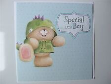 Forever Friends 'costume' birthday card for a LITTLE BOY by Hallmark - 11141001