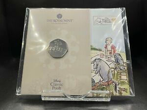 2021 Brilliant Uncirculated Winnie The Pooh and Friends UK 50p Fifty Pence