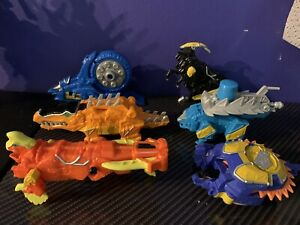Power Rangers Dino Charge lot of zords rare