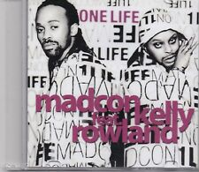 Madcon feat Kelly Rowland-One Life promo cd single