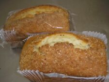 Home Made COCONUT COUNTRY cakes  x 2  Free Postage  Family bakery Shop