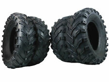 New MASSFX ATV UTV Tires (2) 25x10-12 and (2) 25x8-12 6 Ply Tire Set Front Rear