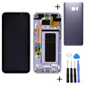 For Samsung Galaxy S8 Plus SM-G955F Amoled LCD Display Touch Screen+Frame Purple