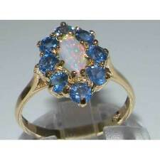 Marquise Cluster Yellow Gold Fine Rings