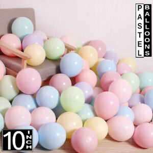 25 Pastel Couloured Balloons 10inch, Macaroon Colours, Pink, Peach, Lemon & more