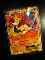 NM Pokemon DELPHOX EX Card BLACK STAR PROMO Set XY19 Ultra Rare Kalos Power Tin