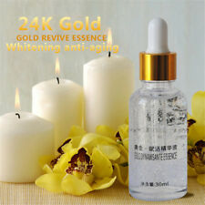 24K Gold Pure Foil Essence Serum Face Lift Anti-Aging Whitening Moisturizing Oil