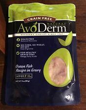 Avoderm Natural Grain Free Ocean Fish Recipe In Gravy Pouch Wet Cat Food, 3-Oz