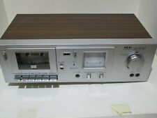 Akai Cs-M01A Metal Cassette Deck Tested to Works