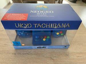 Neo Geo Neogeo Mini Samurai Showdown Limited Edition blue. SNK