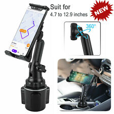 NEW Car Mount Adjustable Cup Holder Stand Cradle For Cell Phone Tablet Universal