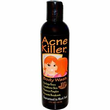 Greensations Acne Killer Body Wash 4 fl oz 120 ml All-Natural, Not Tested on