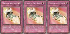 Magical Arm Shield SDZW-EN037 X 3 1st Mint yugioh