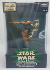 1998 Kenner Star Wars The Power Of the Force Stap And Battle Droid NEW