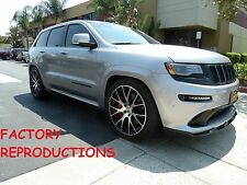 4) 22x10 Machined Hellcat Style Fit SRT SRT8 Jeep Grand Cherokee Wheels Rims