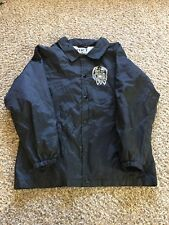 FUCT Track Jacket All Over Print Button Up Skull Medium
