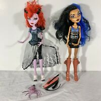 Monster High Dolls Set of 2 First Wave 2011 Robecca Steam & Operetta Incomplete