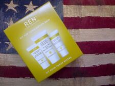 REN Kit for Combination skin:Detox Mask, T-Zone Cleansing Gel & Balancing Fluid
