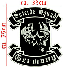 STREETFIGHTER GERMANY SWAT schiena PATCH RICAMATE 35x32 cm