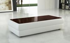 Classiques Design Table Basse Salon Meuble Cuir Table D'Appoint Table Canapé