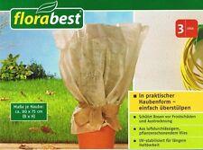 Florabest Rosen Frostschutzhaube Frost Schutz Haube Winter 80 x 75 cm 3 Stück