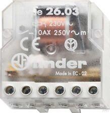 Finder Telerruptor para Caja 1S/1Ö 10A 230VAC 26.03.8.230.0000
