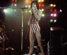 Freddie Mercury UNSIGNED photograph - L3125 - On stage, Las Vegas, 1970