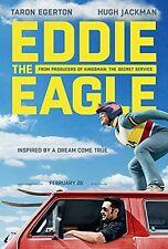 EDDIE THE EAGLE Original Movie Poster D/S 27x40 - Hugh Jackman - Turon Egerton