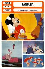 FICHE CINEMA : FANTASIA - Walt Disney,Mickey 1940 (mod.A)