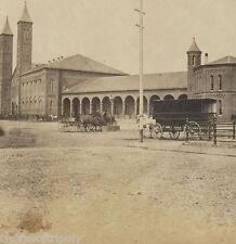 19th C. EARLY BOSTON & PROVIDENCE RAILROAD DEPOT TRAIN STATION ~ ORIGINAL PHOTO
