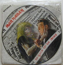 """IRON MAIDEN Be Quick Or Be Dead 1992 UK ORG 12"""" PICTURE DISC Sealed !!! METAL"""