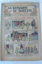 LA SEMAINE DE SUZETTE  5ème ANNEE  1909  -  N° 47
