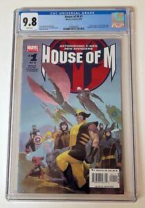 House of M #1 - Marvel Comics CGC 9.8