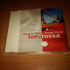 CDs PROMO VIRGINIANA MILLER GIORGIO CANALI TERRAROSSA MES 673456 2 2003 4 TRACCE