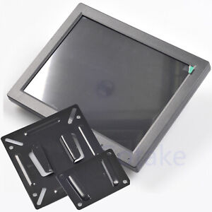 10 inch TFT LCD Monitor VGA RCA BNC HDMI Color Video Screen Wall Mount Bracket