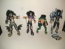 Vintage McFarlane Kiss Psycho Circus Action Figures. Lot of 4