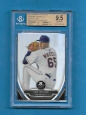 2013 Bowman Platinum Chrome Prospects Refractors ZACK WHEELER Beckett 9.5