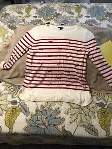 talbots petite large sweater