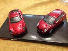 Nice 1/43 Quattroroute 2 Car Alfa Romeo set Promo 8V and Mito Red