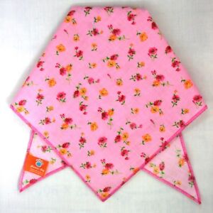 Pink Floral Dog Bandana / Scarf - 3 sizes to choose from!