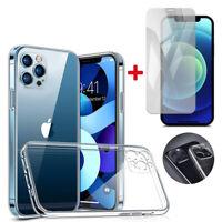iPhone 12 / 12 Mini Pro Max Kamera Schutzhülle Case Panzerfolie Schutzglas 9H