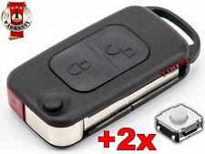 MERCEDES W168 W124 W208 W210  124 A E G SL TELECOMMANDE CLE +2 SWITCH BOUTON